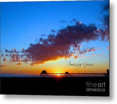 Metal Print featuring the photograph Amzing Grace 7 by Margie Amberge
