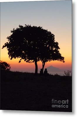 An African Sunset Metal Print by Vicki Spindler