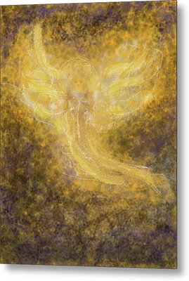 An Angel I Know Metal Print by Anne Cameron Cutri