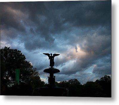 An Angel In The Clouds Metal Print
