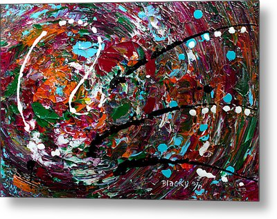 An Angry Moment Metal Print by Donna Blackhall