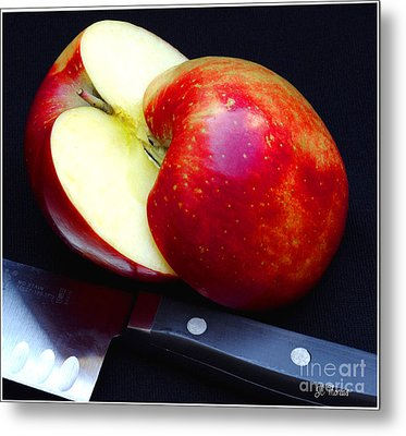 An Apple A Day Metal Print by James C Thomas