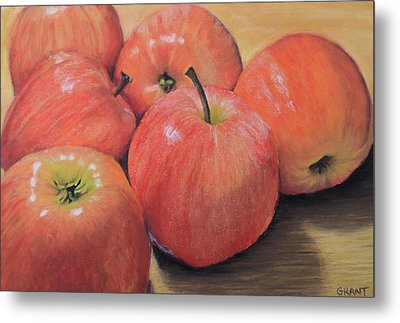 An Apple A Day Metal Print