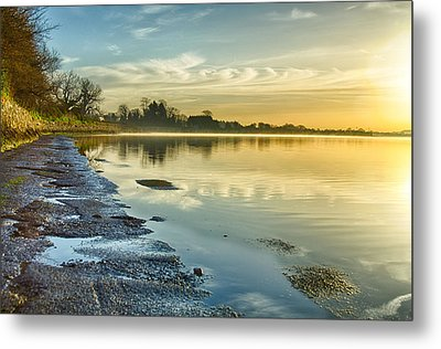 An April Morning On The Estuary  Metal Print by Martina Fagan