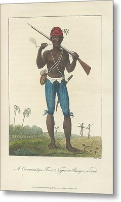 An Armed Negro Metal Print by British Library