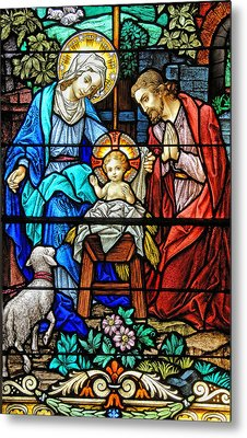 An Authentic Merry Christmas Metal Print