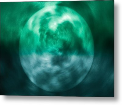 Metal Print featuring the photograph Green Energy by Kellice Swaggerty