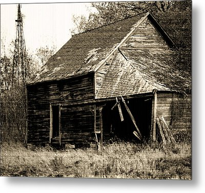 Metal Print featuring the photograph An Era Past by Maggy Marsh