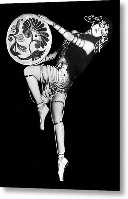 An Exotic Russian Dancer Metal Print by Underwood Archives