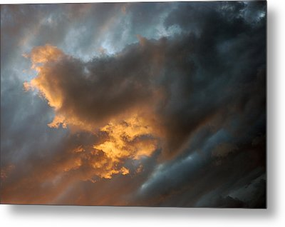 .....an Ill Wind That Blows Metal Print by Allen Carroll