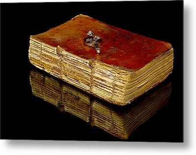 An Old Bible Metal Print by Tommytechno Sweden