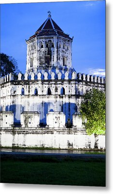 An Old Fortress On The Side Of The Chao Metal Print