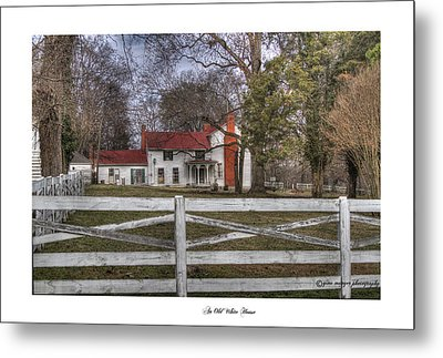 An Old White House Metal Print by Gina Munger