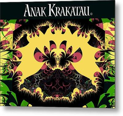 Anak Krakatau - Child Of Krakatoa Metal Print by Jim Pavelle