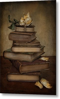 Analects Of Wisdom Metal Print by Robin-Lee Vieira