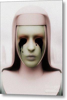 Metal Print featuring the digital art Anathema by Sandra Bauser Digital Art