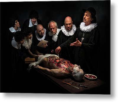 Anatomy Lesson II Metal Print