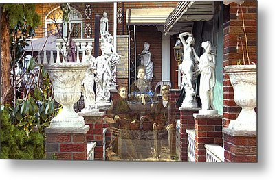 Ancestral Home Metal Print by Roslyn Rose