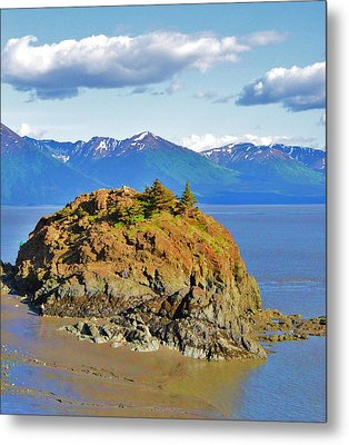 Anchorage Alaska Metal Print