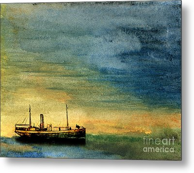 Anchorage Metal Print by R Kyllo