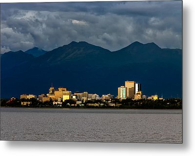 Anchorage Metal Print by Rick Berk