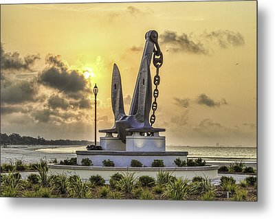 Anchors Away Metal Print by Brian Wright
