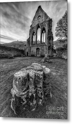 Ancient Abbey Metal Print by Adrian Evans