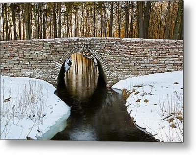 Ancient Bridge Metal Print