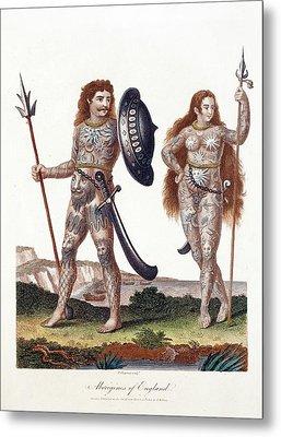 Ancient Britons Metal Print