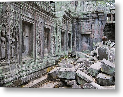 Ancient Cambodia Metal Print by Jerry Nelson
