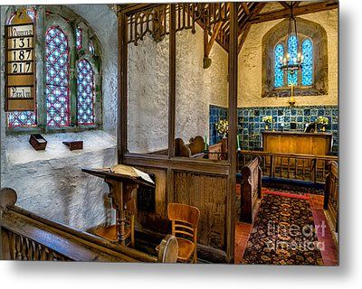 Ancient Chapel 2 Metal Print by Adrian Evans