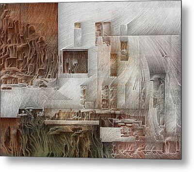 Ancient City 1 Metal Print