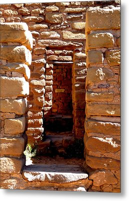Ancient Doorways Metal Print