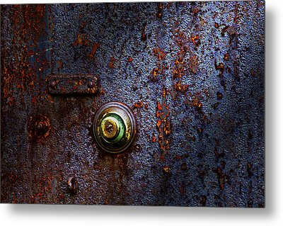 Ancient Entry Metal Print by Tom Mc Nemar