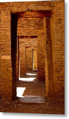 Ancient Galleries Metal Print