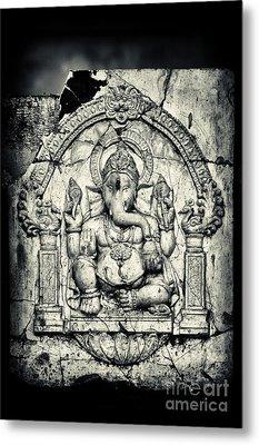 Ancient Ganesha Metal Print