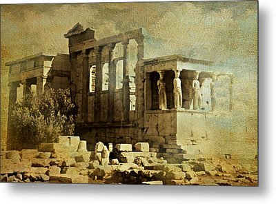 Ancient Greece Metal Print by Diana Angstadt