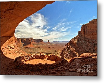 Ancient Life Elevated Metal Print by Adam Jewell