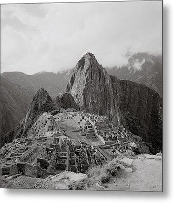 Ancient Machu Picchu Metal Print