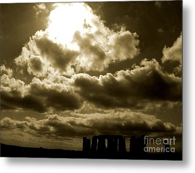 Ancient Mystery Metal Print by Vicki Spindler