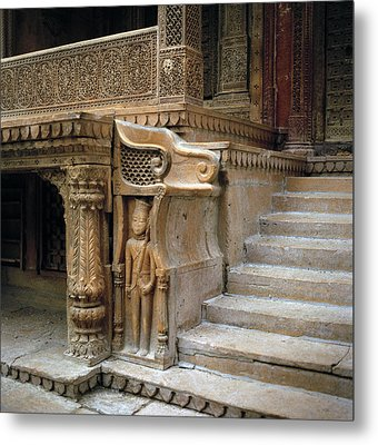 Ancient Rajasthan Metal Print by Shaun Higson