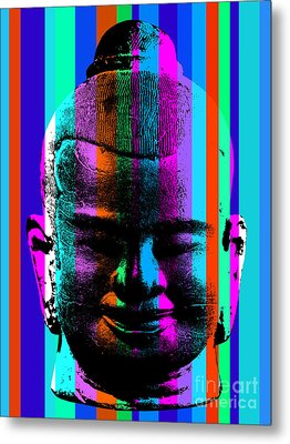 Ancient Sculpture 6.0 Metal Print by Bobbi Freelance