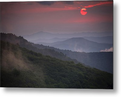 Ancient Smokies Metal Print