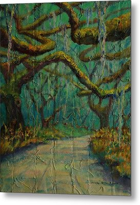 Ancient Tapestry Metal Print by Dorothy Allston Rogers