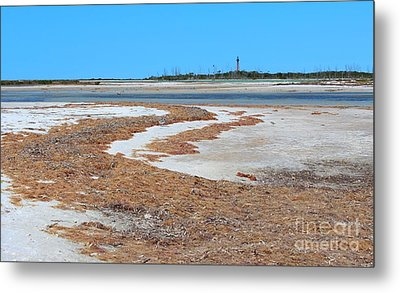 Metal Print featuring the photograph Anclote Key Island Lighthouse by Jeanne Forsythe
