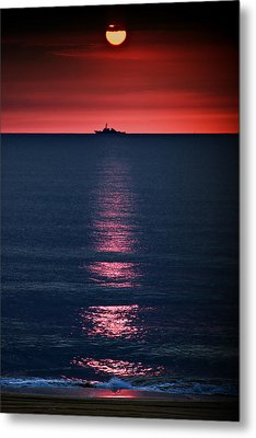 And All The Ships At Sea Metal Print