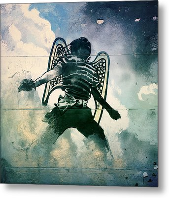 And I Heard As It Were The Noise Of Thunder.. Metal Print by A Rey