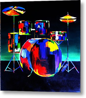 And The Beat Goes On Metal Print by Beth Smith