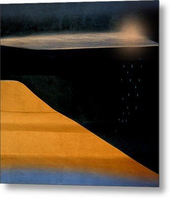 And The Rains Came Metal Print by Carol Leigh