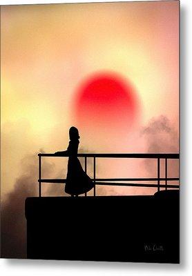 And The Sun Also Rises Metal Print by Bob Orsillo